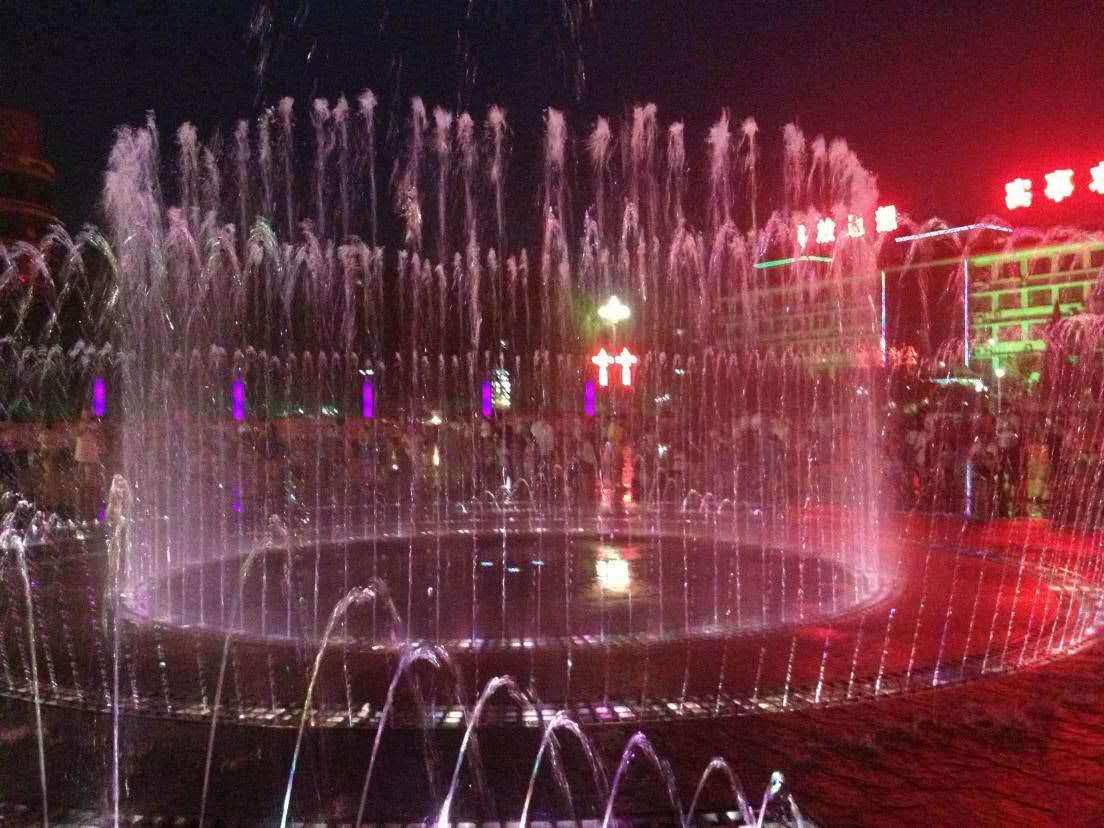河津市河津广场音乐喷泉