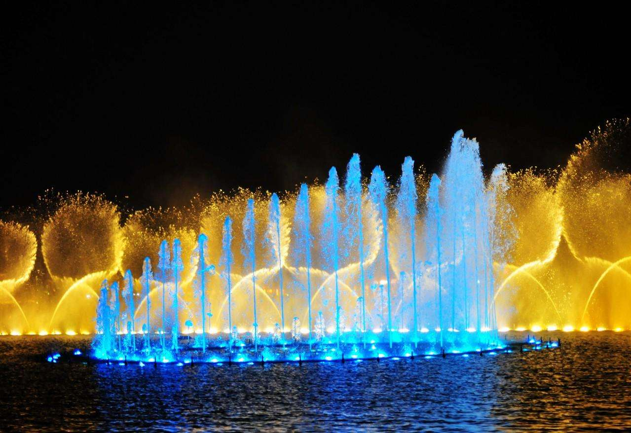 西湖音乐喷泉