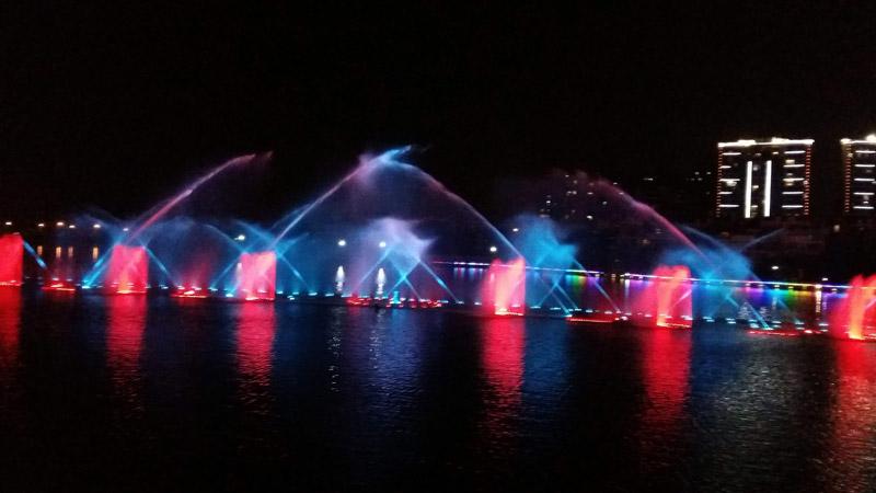 景区呐喊喷泉