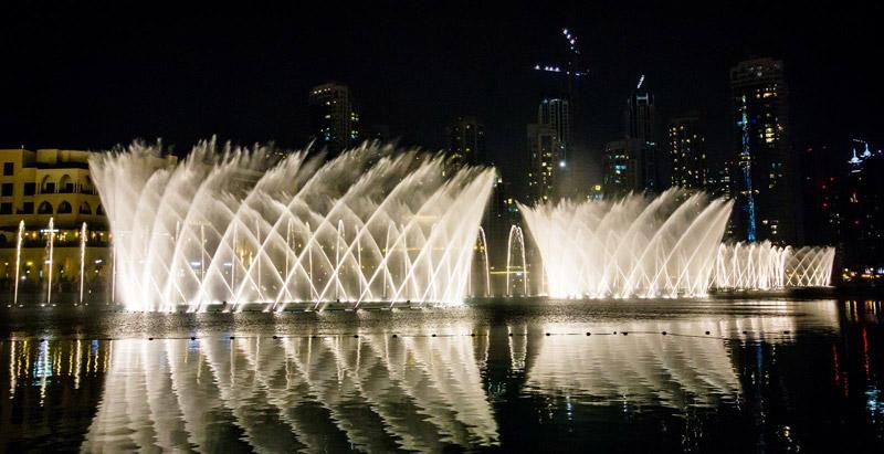 水景声控喷泉